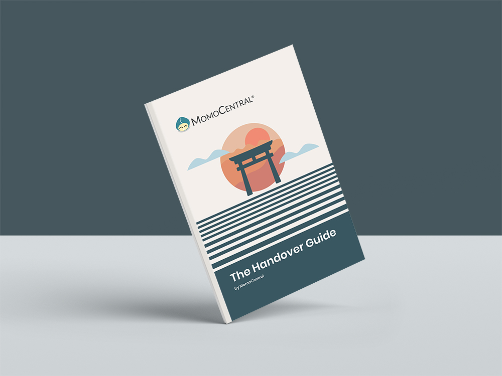 The Handover Guide by MomoCentral Book Cover